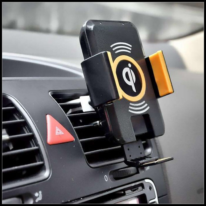 Qi Car Wireless Charger For Samsung S7 S6 Edge Plus Cases Car Wireless Charger Charging Pad For Galaxy Note 5 Note5 Yotaphone 2