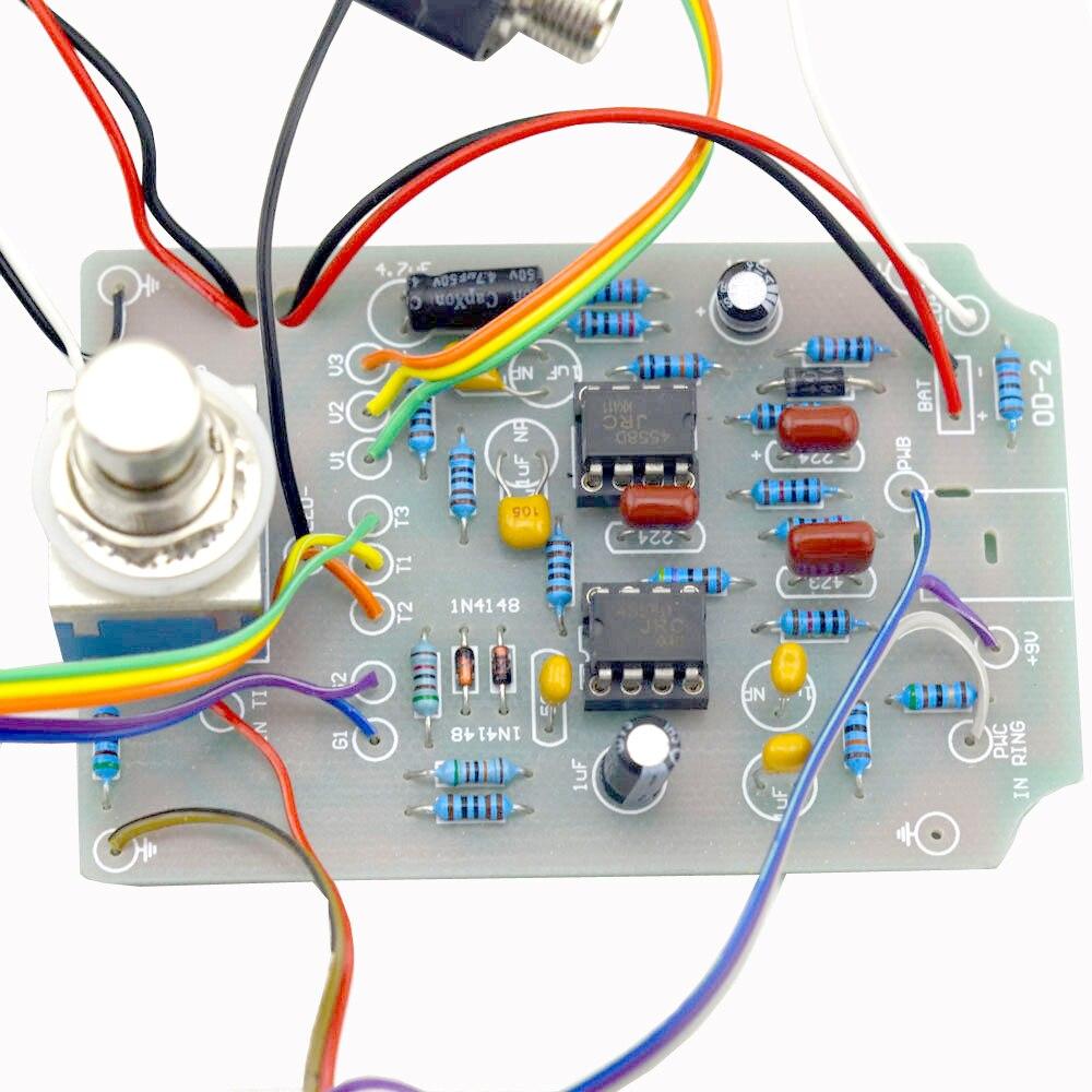 Kit de pedal de efectos de guitarra Overdrive DIY con kits de pedales - Instrumentos musicales - foto 3