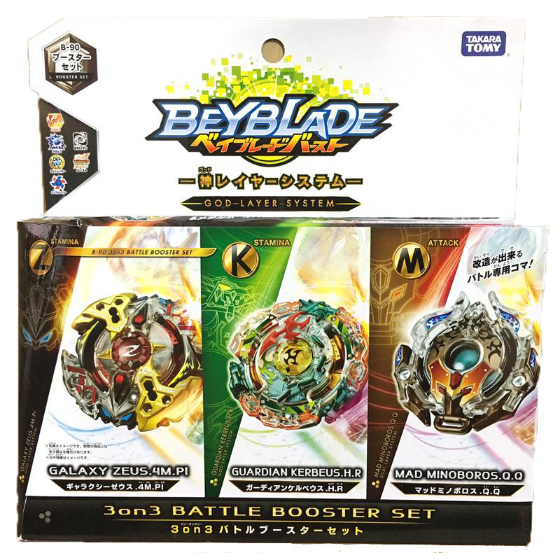 Tomy Beyblade Arena Original Bey Blade Burst B-107 Attack GT 2pcs Gyro Toys Pack Launcher Spinning Top Children Gifts