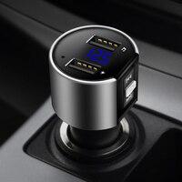 Urbanroad Car USB Mp3 Bluetooth Fm Transmitter Aux Wireless Audio Player Car Kit Handsfree Fm Modulator