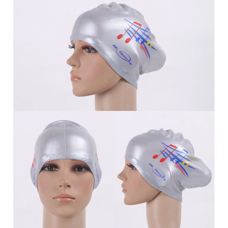 4295d19fc89 Gojoy Women swimming caps Silicone Long Hair Girls Waterproof Swimming Cap  swim hat for Lady With Ear Cup Wholesale-in Swimming Caps from Sports ...