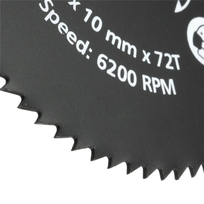 El más nuevo 1PC 85mm 72T HSS Hoja de sierra circular Disco de corte - Hojas de sierra - foto 5
