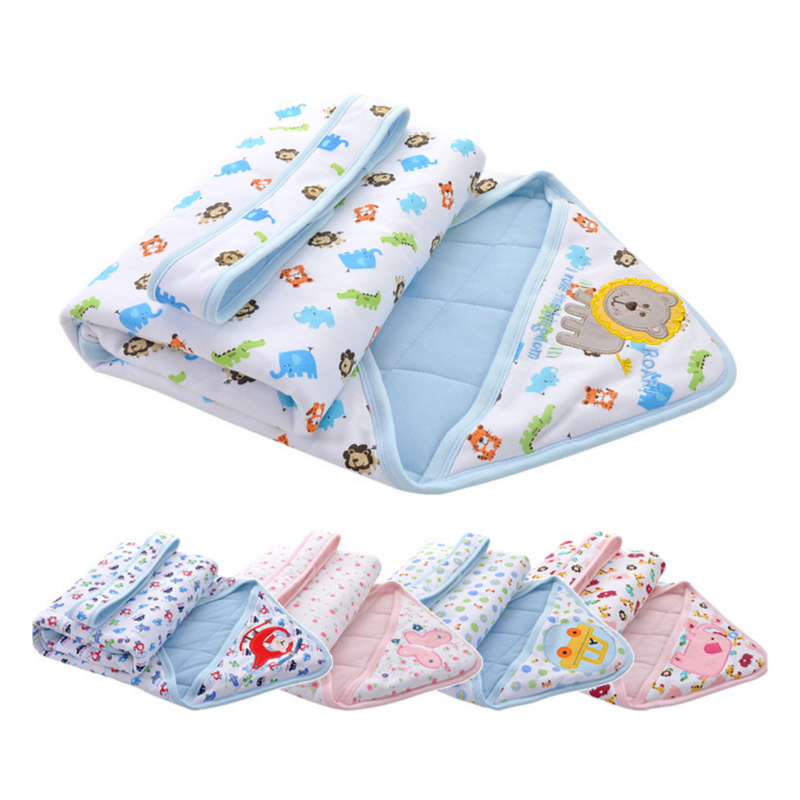 Baby Swaddles 100% Bomuld Nyfødt Babytæppe 85 * 90cm Forår Efterår Vinter Baby Wrap Envelope Swaddle Sovepose Sovepose