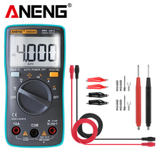 купить ANENG AN8000 Digital Multimeter 4000 counts profesional capacitor tester esr meter richmeters inductance meter digital tester по цене 565.34 рублей