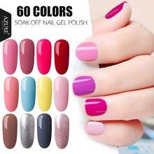 Azure 7 мл Цвет ful Гель-лак 3D Блеск УФ Гели для ногтей польский белый Цвет серии гель Лаки для ногтей Лидер продаж длительный гель лак