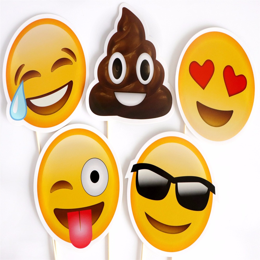 Buy 5pcs funny emoji face decoration for Decoration emoji