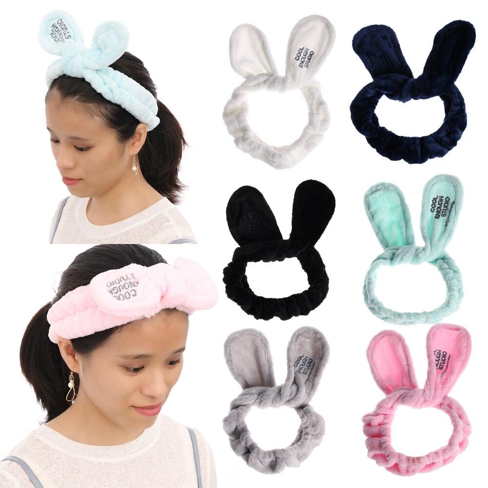 Le donne dei cartoni archetto gatto orecchie in morbido cotone Hairband  Halloween copricapo bande 2aa42afc08a1