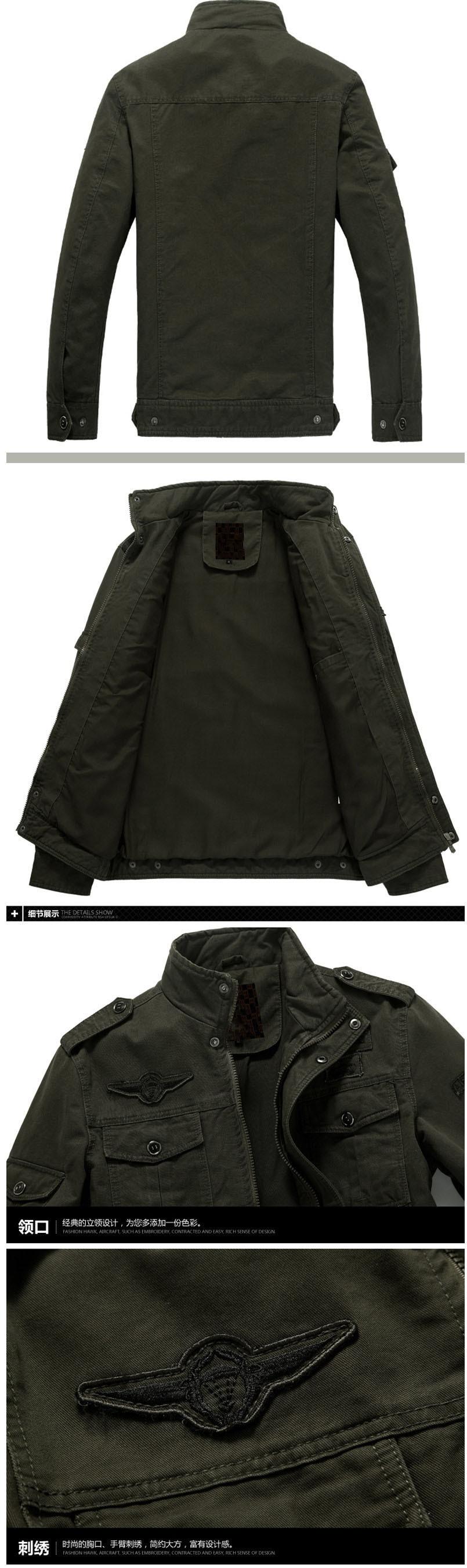 Мужская куртка-бомбер, весенне-осенние куртки, мужские пальто, военная верхняя одежда, куртка со стоячим воротником, мужская куртка, veste homme M-6XL