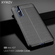 For Vivo X27 Case Luxury Shockproof Rubber Soft Silicone Hard PC Phone Back Cover Fundas