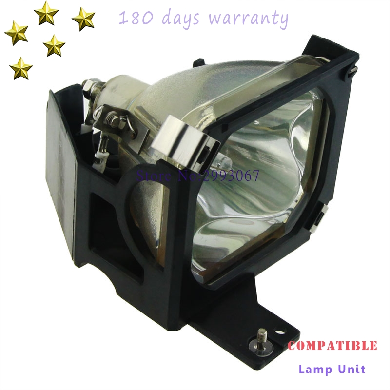 Replacement ELP13  V13H010L13 Projector Lamp With Housing For EPSON PowerLite 50C 70C EMP-50 EMP-70 With 180 Days Warranty