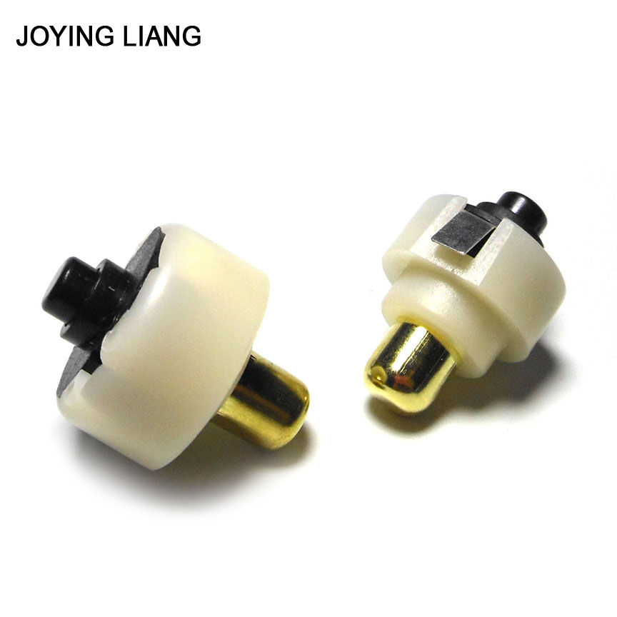 JOYING LIANG Diameter 20mm/ 17mm LED Flashlight Push Button Switch ON/ OFF Electric Torch Tail Switch 2pcs/lot 5pcs lot high quality 2 pin snap in on off position snap boat button switch 12v 110v 250v t1405 p0 5