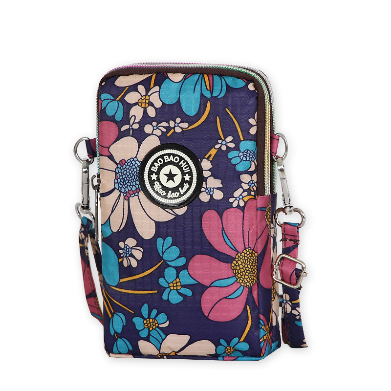 Wallet Messenger-Bag Zipper Women Ladies Leisure New-Fabric Outgoing Wholesale