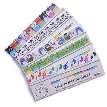gullig kawaii diy memo pad klibbig Notepaper notera tecknad djur hjärta hund groda katt pingvin klistermärke kontor skolmaterial