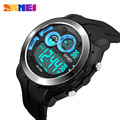 SKMEI Brand Men Watches LED Digital Watch Man Waterproof PU strap Clock Relogio Masculino Relojes Hombre Outdoor Sports Watches