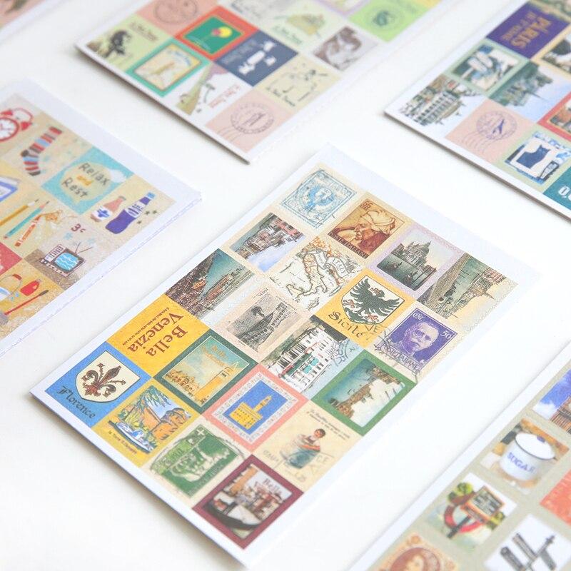 Notebooks 1 Pc Gebäude Stil Mini Notebook Papier Britischen Soldat Tagebuch Tasche Pad Eiffelturm Skizze Buch Pocketbook Memo Pad Schreibwaren