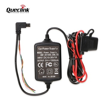 Car Battery Power Supply Charger CBP 5V1500 USB V2 Output : 5V/1.5A Input: DC 10-36V For Quecink GL300 GL300VC GL300W GL3028W image