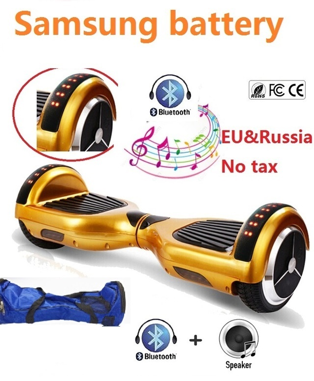6.5 electric scooter with Led Lights Self balancing scooter skateboard hoverboard bluetooth oxboard smart balance wheel scooter no tax to eu ru four wheel electric skateboard dual motor 1650w 11000mah electric longboard hoverboard scooter oxboard
