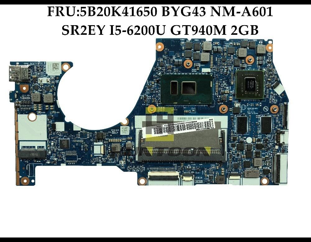 Laptop Motherboard DDR3 Yoga Lenovo NM-A601 FOR 700-14ISK Byg43/Nm-a601/Sr2ey/.. 2G 100%Fully-Tested