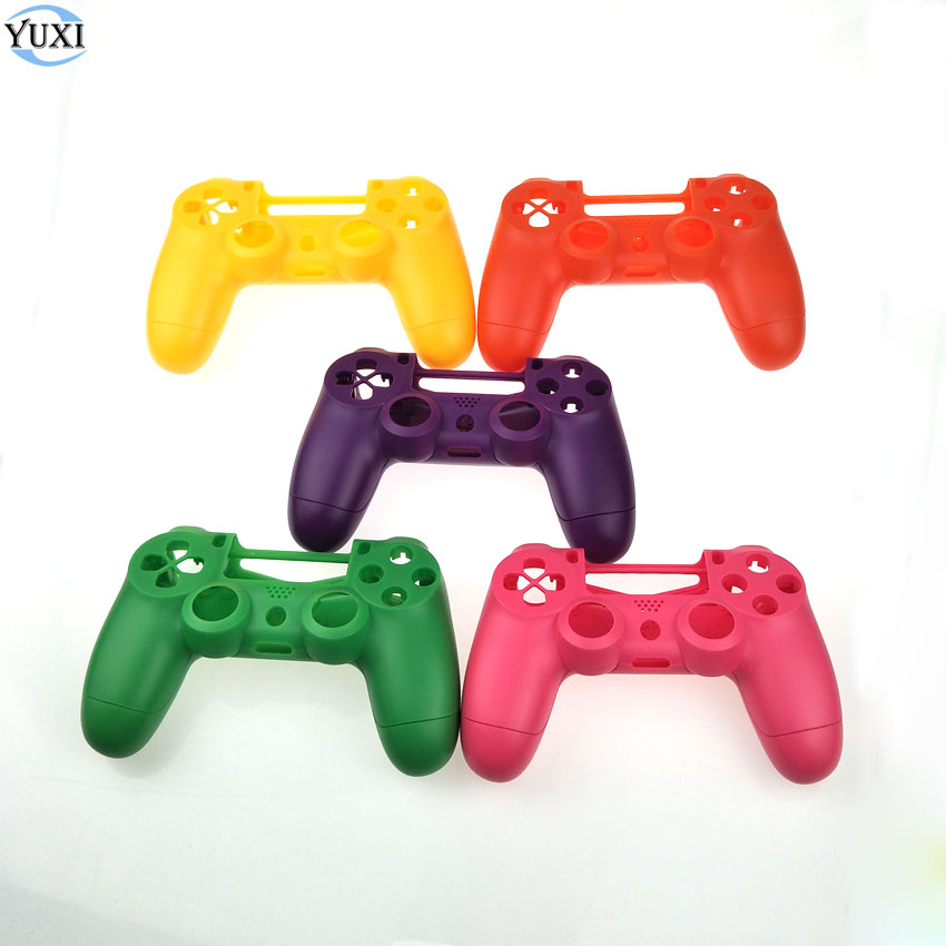 YuXi New version Shell Housing Cover for PS4 Pro Slim Wireless Controller Gamepad Replacement JDM-040