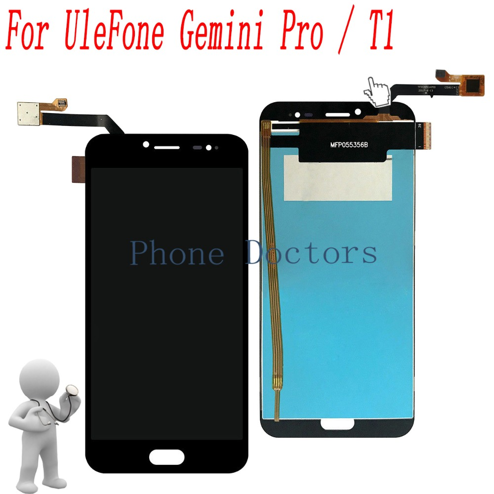 5.5'' Touch Screen Digitizer Glass + LCD Display Assembly For Ulefone Gemini Pro / Ulefone T1