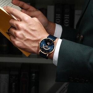 Image 5 - Relogio Masculino BELOHNUNG Mode Männer Uhr Wasserdicht Herren Uhren Top Brand Luxus herren Uhr Komplette Kalender Woche Uhr