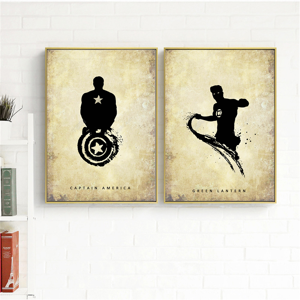 Great Marvel Wall Decor Pictures Inspiration - The Wall Art ...