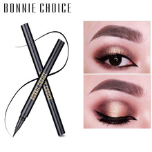 BONNIE CHOICE 1 Pc Liquid Eyeliner Pencil Long-lasting Waterproof Black Eye Liner Pen Makeup Cosmetic Tool