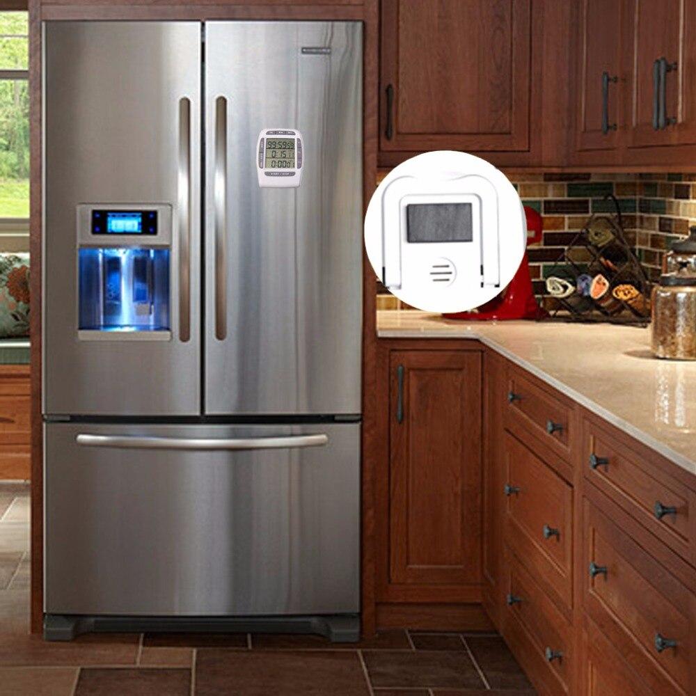 Digitale Küchenuhr, kochen Timer, laut Timer, Multichannel Weiß ...