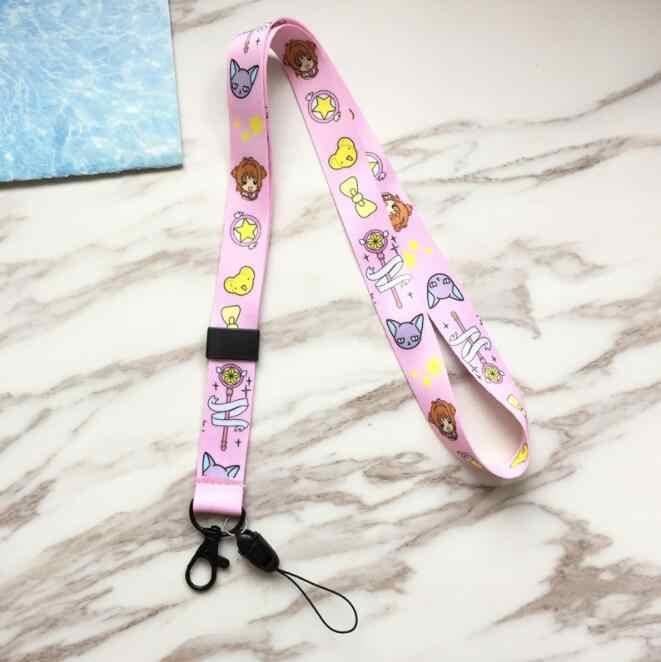 Продажа в розницу по 1 штуке для костюмированной вечеринки по японскому аниме Cardcaptor Sakura Высокое качество ремешок для ключей подарки шейный ремешок карты идентификатор автомобиля личности удостоверение личности R3