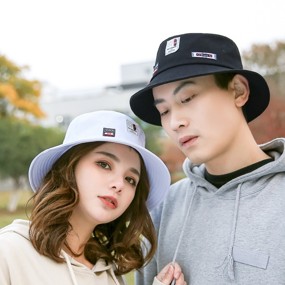 Happy Fathers Day Thanks Dad New Summer Unisex Cotton Fashion Fishing Sun Bucket Hats for Kid Teens Women and Men with Customize Top Packable Fisherman Cap for Outdoor Travel