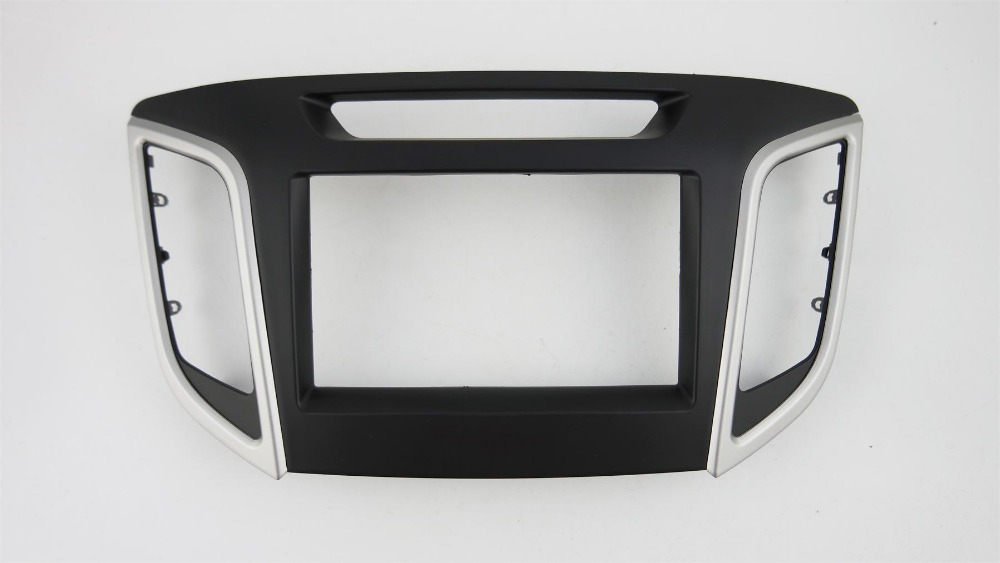 Double Din Facia for Hyundai iX 25 Creta 2014 Radio DVD Stereo CD Panel Dash Kit