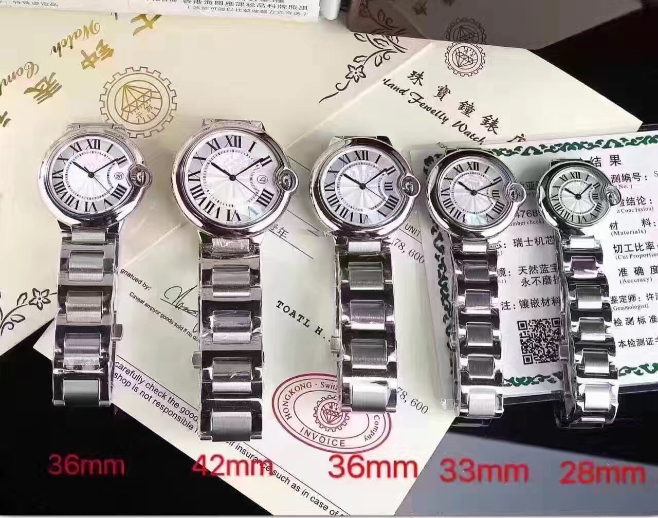 Luxury Brand New Men 36mm Women Sapphire Full Silver Stainless Steel Japan Quartz Sports Classic Round Watches With Date AAA+Luxury Brand New Men 36mm Women Sapphire Full Silver Stainless Steel Japan Quartz Sports Classic Round Watches With Date AAA+