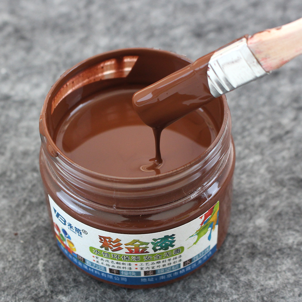 100g Copper Water-based Paint Varnish, Furniture, Iron Doors, Wooden Doors, Handicrafts, Wall, Painting