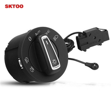 купить SKTOO Auto Light Sensor With Headlight Switch For Volkswagen Golf MK5 MK6 Jetta MK5 Tiguan Passat B6 Touran по цене 2721.83 рублей