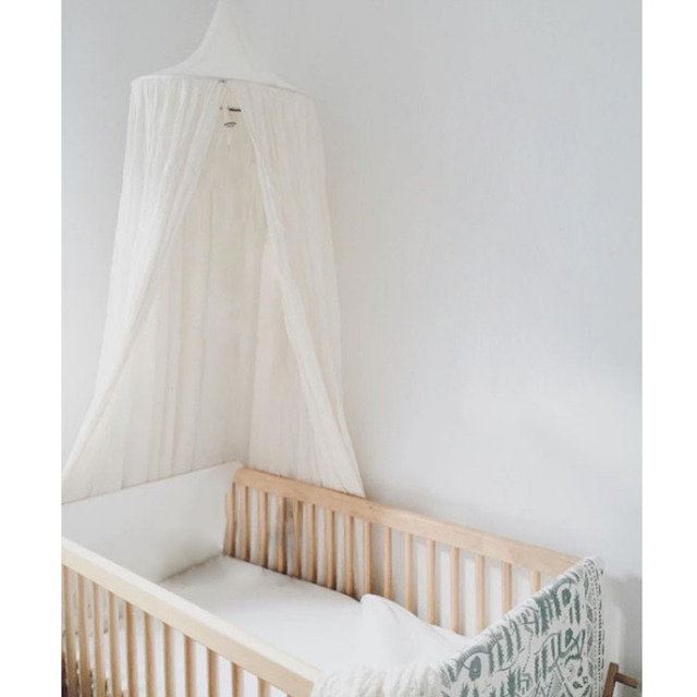Mosquito Net Bed Canopy Tourist Tent Bed Curtain Round Dome Hanging Mosquito Net Bedcover Curtain Baby Bed Canopy Curtain