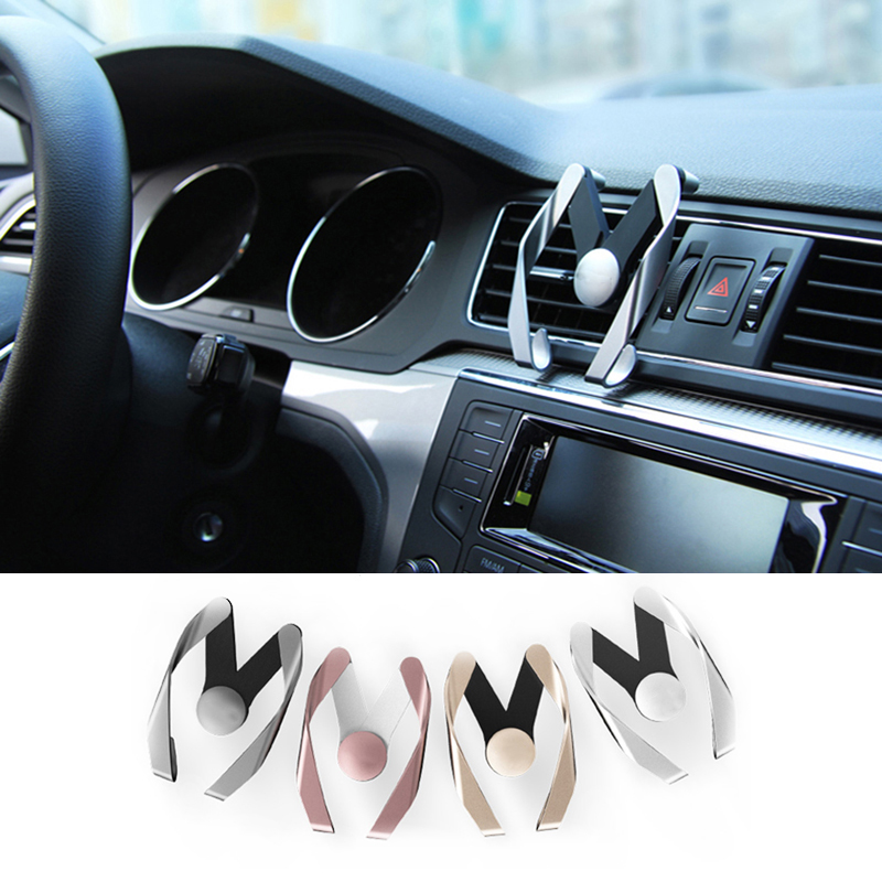 Car Styling auto Phone Air Vent Stand Mount For ford focus 2 focus 3 fiesta mondeo kuga ranger ect ouzhi for ford focus 2 3 mondeo fiesta f150 orange brown brand designer luxury pu leather front
