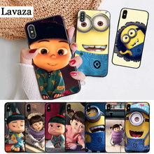 Lavaza Minions Minion My Unicorn Agnes Silicone Case for iPhone 5 5S 6 6S Plus 7 8 11 Pro X XS Max XR