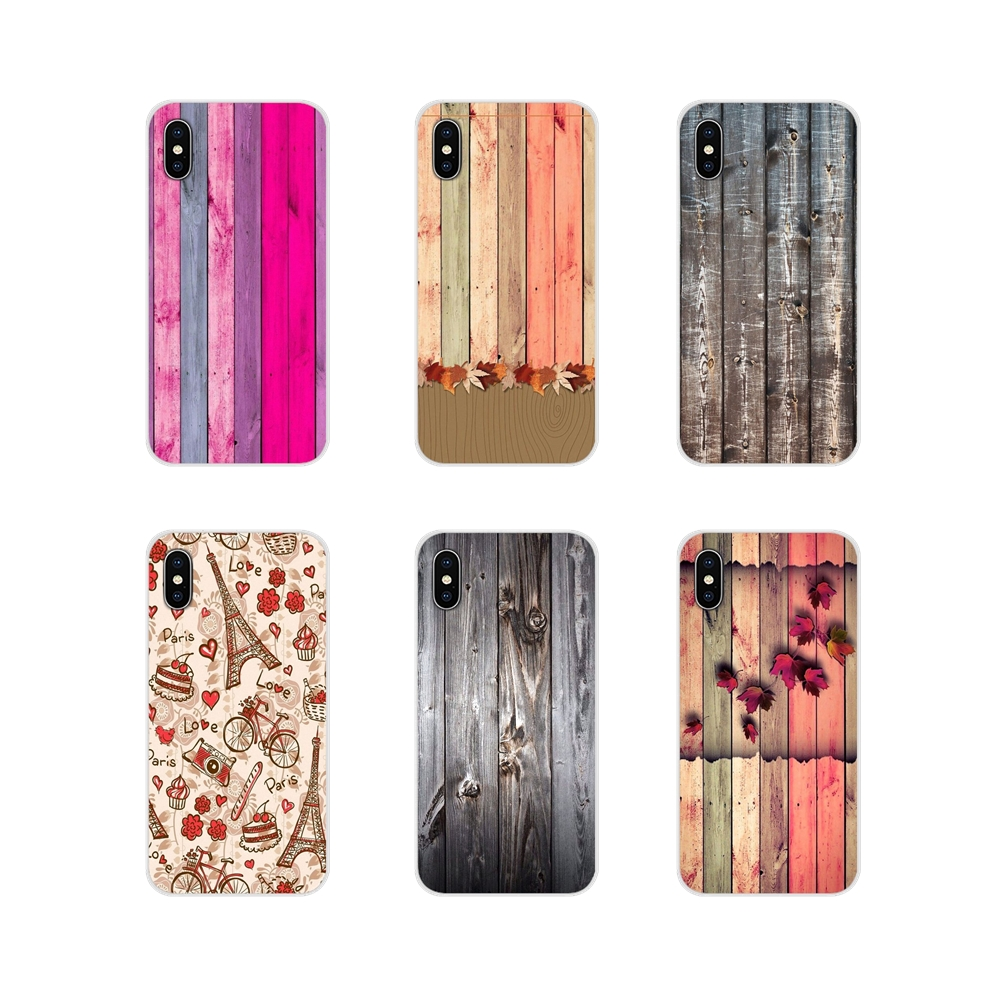 Abstract Wood Colors Textures For Motorola Moto X4 E4 E5 G5 G5S G6 Z Z2 Z3 G G2 G3 C Play Plus Accessories Phone Cases Covers