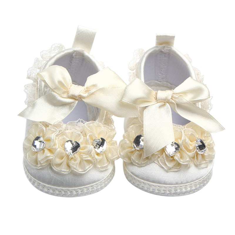 Infantil Cute Baby Shoes Toddler Soft Sole Baby Girl Shoes Princess Style First Walkers Prewalkers Casual Shoes for 0-9M Kids