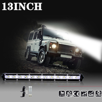 7 Inch 18W 13 Inch 36W Work Light Bar LED Beam Fog Lights Offroad Motorcycle For