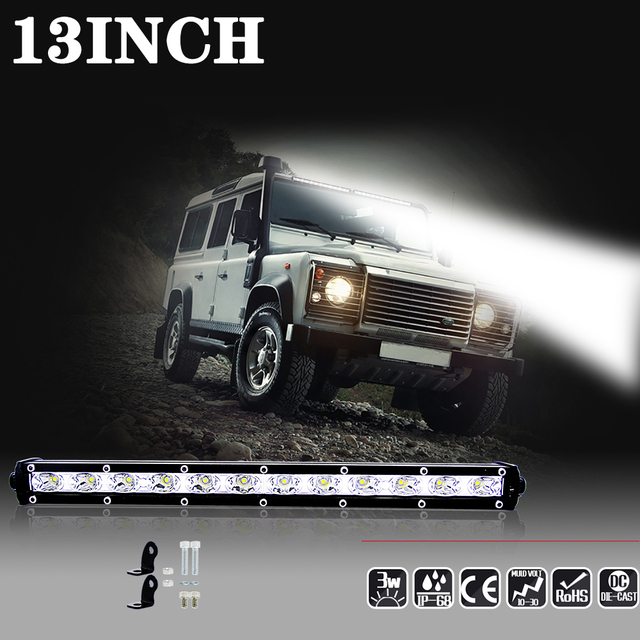 7 inch 18w 13 inch 36w work light bar led beam fog lights offroad 7 inch 18w 13 inch 36w work light bar led beam fog lights offroad motorcycle mozeypictures Choice Image