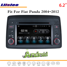 Liislee автомобильное мультимедиа андроид для Fiat Panda 2004~ 2012-стерео радио видео аудио CD dvd-плеер gps NAV NAVI навигационная система