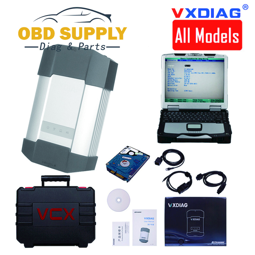 New VXDIAG All model in 1 Multidiag Diagnostic Tool for GM TECH2 JLR For Bmw icom a2 a3 for toyota it3 it2 HDS VCM Vcads star C4