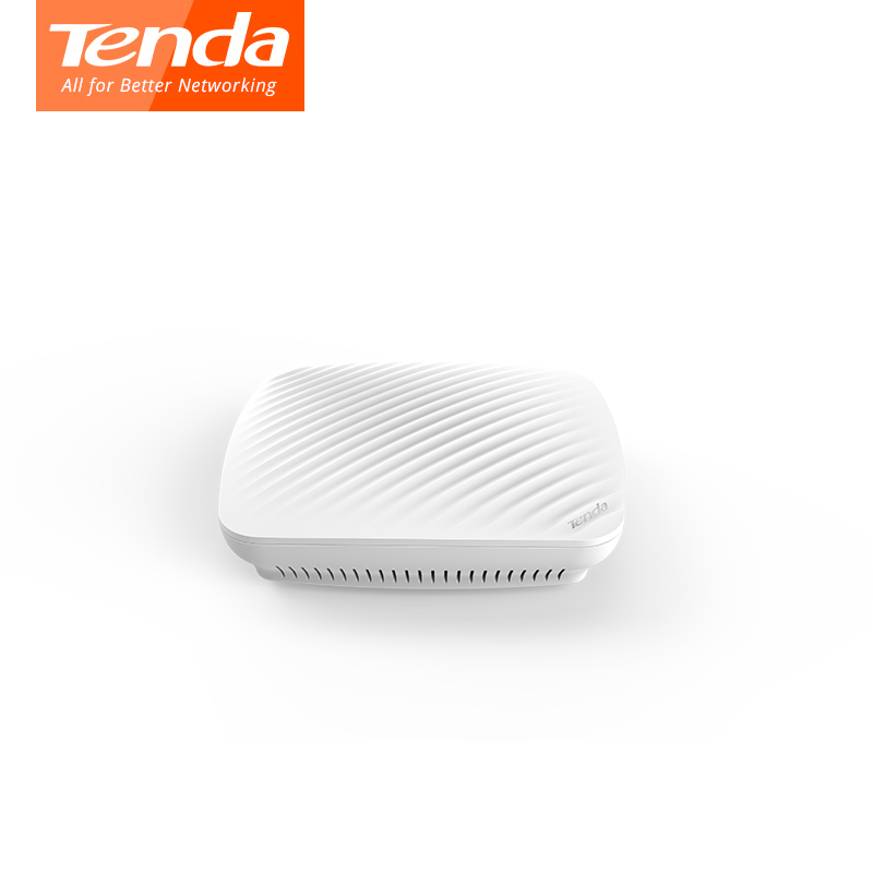 Tenda i9 300Mbps Ceiling Wireless WiFi Access Point Indoor AP Wi-Fi Repeater Extender Router with 9W 802.3af POE Power Adapter tenda a301 wireless range extender