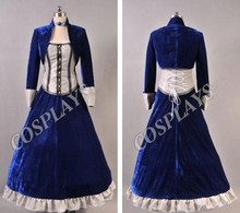 BioShock Infinito 3 Elizabeth Vestido Trajes de Cosplay para las mujeres