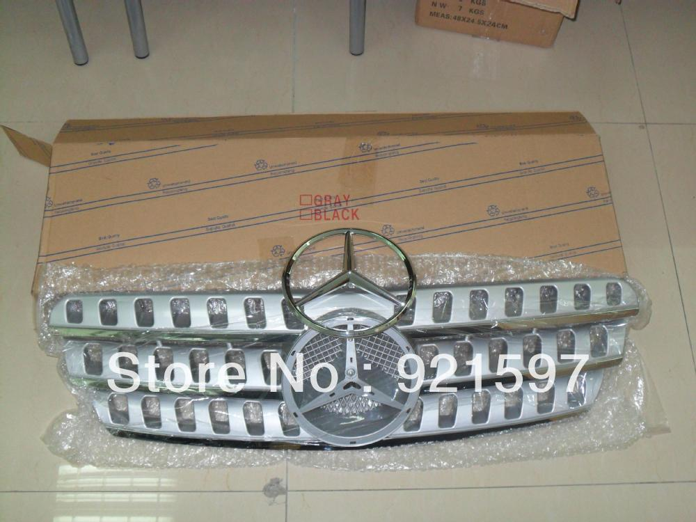 OEM ABS plastic Front chrome Grille suitable used Mercedes W163 ML320 1998-2005 grille EMS,FedEx - Changzhou YiSiTong International Trading Co., Ltd. store