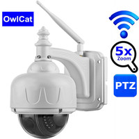 WIFI Camera Outdoor PTZ IP Camera 5X Zoom 1080p Dome CCTV Security IP Camera Wireless Two Way Audio P2P 2MP IR Home Surveilance