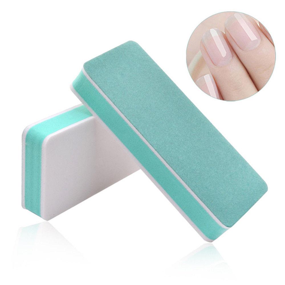 2pcs Nail File Polishing For Nails Double Side Buffer Blcok Buff Shine Nail Polish For Nail Art Tools Polisher Manicure Kits