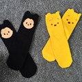Мода осень детские носки хлопок В метро Вязание носки детские мальчик девушки медведь мышь рисунок носков