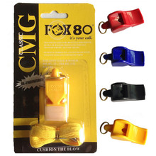 Seedless referee fox whistle soccer basketball professional plastic /